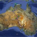 Australie z J na S